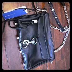 Brand New Black Rebecca Minkoff Crossbody Handbag